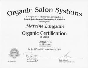 OCS Master Certification
