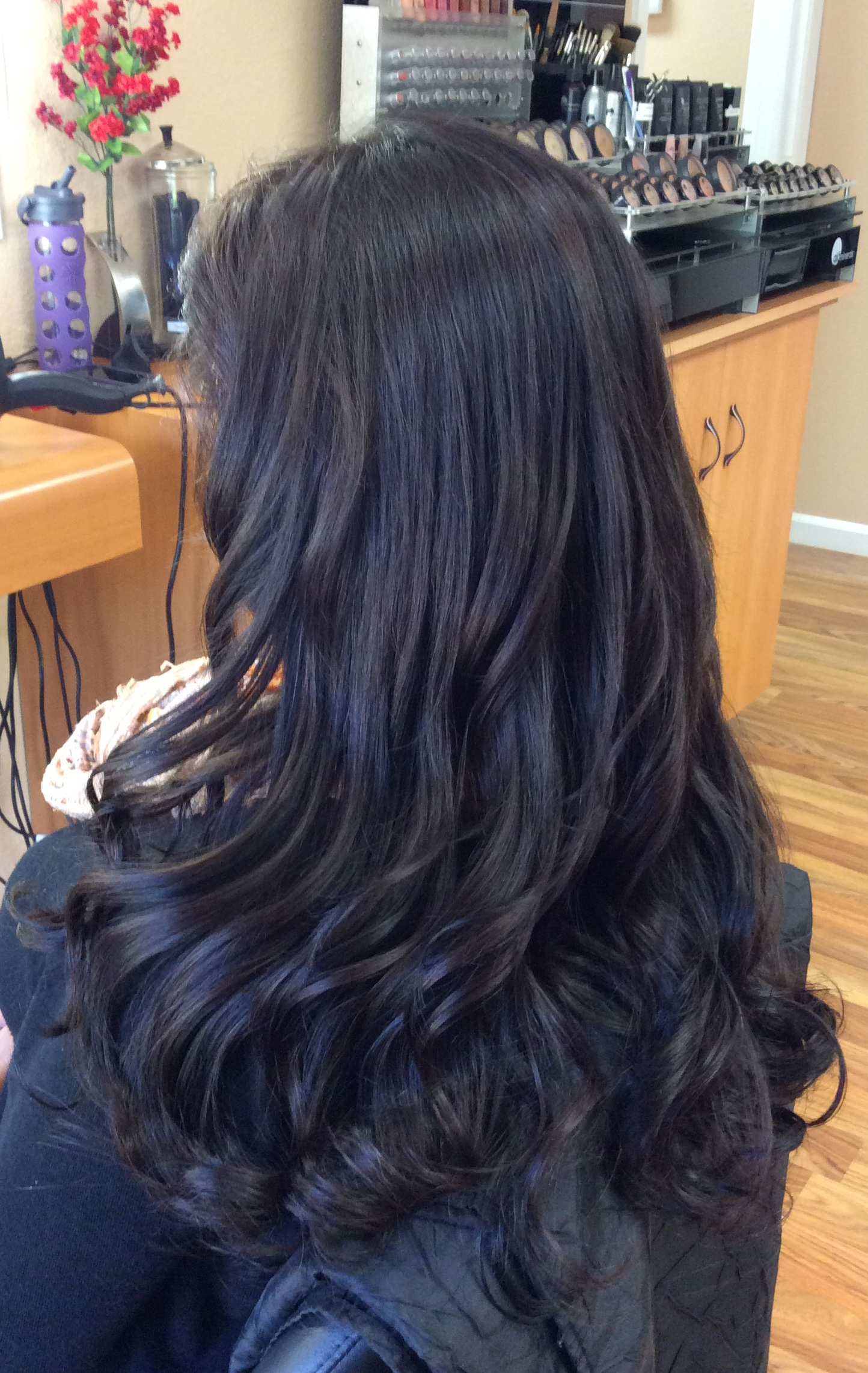 Hair extensions martine langsam iat after hairdreams nano strands pmusecretfo Images