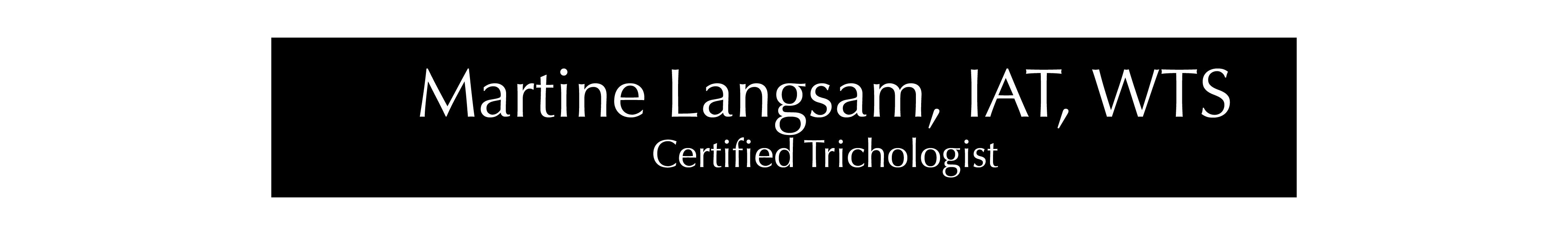 Martine Langsam, IAT Logo